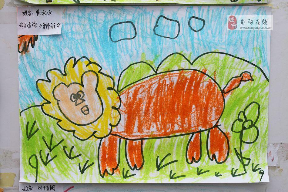 [分享]二幼幼儿画展 蒙中班幼儿作品