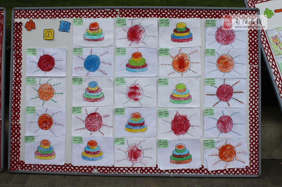 幼儿亲子手工作品图片展示_幼儿亲子手工作品相关  小班幼儿画展作品