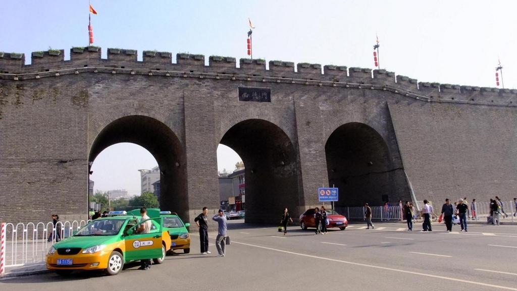 图说西安城墙城门; 疯狂联盟城墙图片; 陕西文化网|图说陕西|图说西安