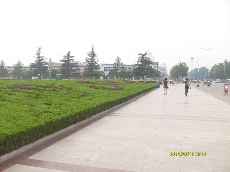 濮阳是中国第一批6个国家级卫生城市之一,街道干净整洁,看不到一图片