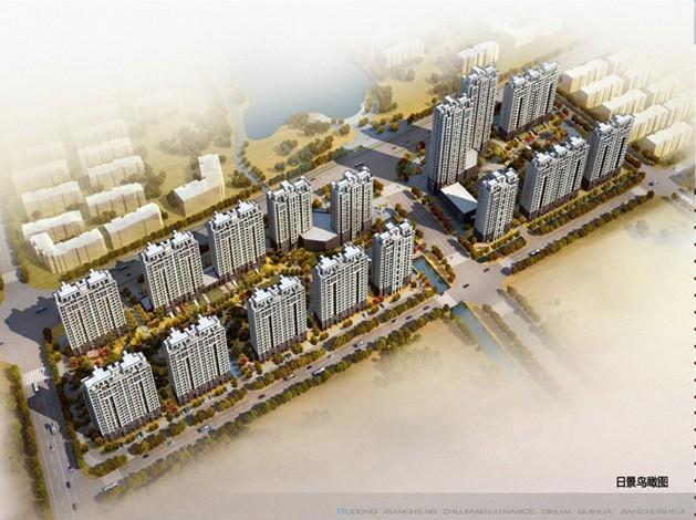 主题 如东县城重大项目效果图规划图 更新海花新城