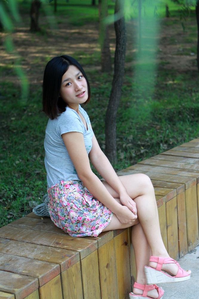 沈阳南湖公园美女莹莹是新照