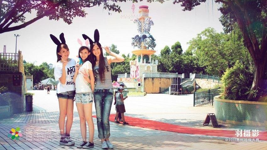 遵义新浦新区最新-2011惠州超模游长隆