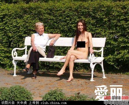 网络流传的一组中国女留学生美