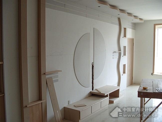[贴图]客厅影视墙装修效果图115张之十一_家居