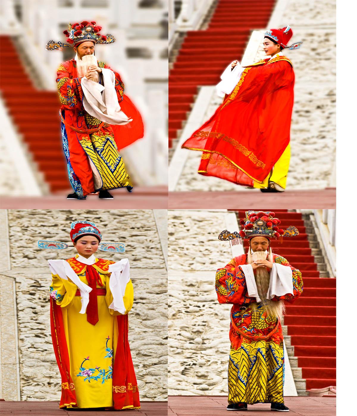 趁着国庆长假的第二天,身为本地人却是第一次来到同安影视城,虽然天空阴沉沉的但却被舞动的异国风情而煽动,原来紫禁城内国庆期间主办方正在举行《第一首届皇宫国际影视艺术盛会》的`活动,来自俄罗斯和东妮亚艺术团的艺员们尽情演绎,时而哈萨克的风情舞动,时而是格格的娇媚柔情。。。。。。 同安影视城,位于同安区五显镇的东溪河西岸,占地面积1000亩,第一期占地180亩,是一处大型的仿古人造娱乐城。距厦门市35公里,位于北辰山、梵天寺旅游线上。是前远华集团投资兴建的仿古人造景观娱乐城。 于1998年落成。   同安影视