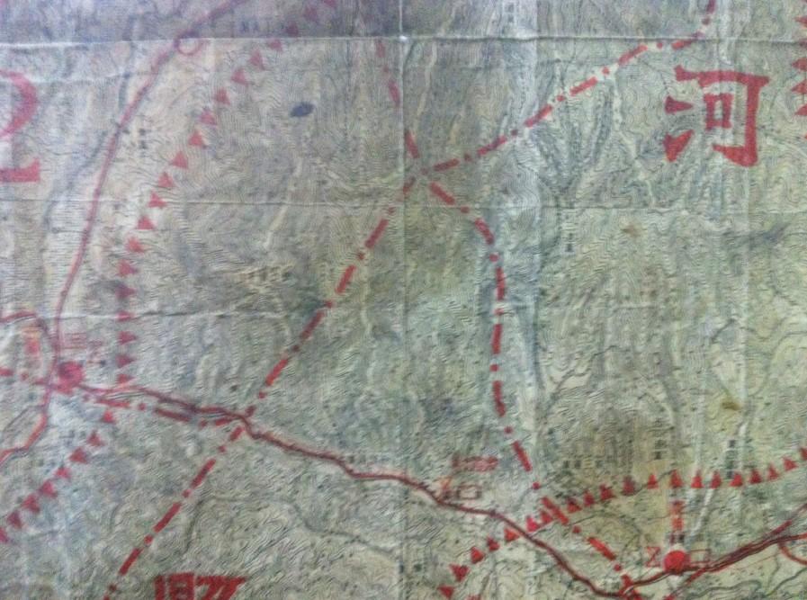 柳河县军事地图