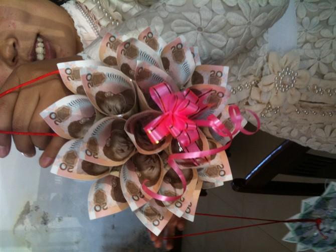 2014手工叠生日锁图片用钱叠生日锁步骤图 生日锁的叠法和图片 图片