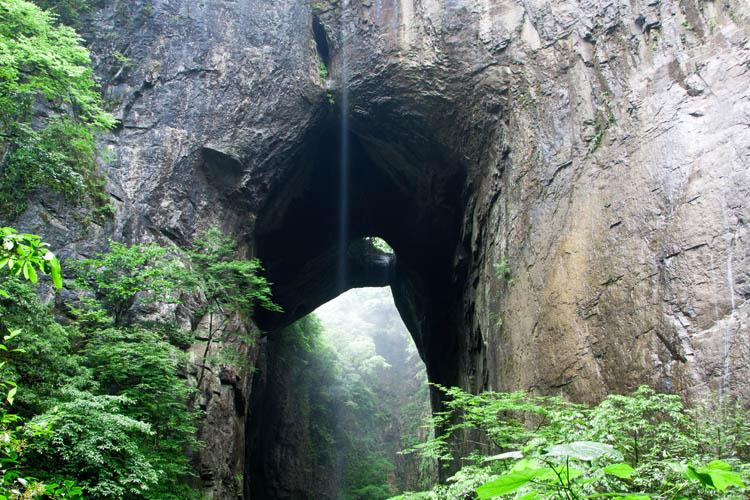 咸丰坪坝营四洞峡
