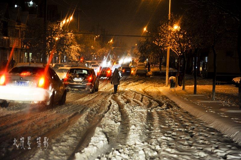 武安下雪了:2011年冬季第一场雪