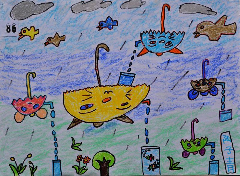 小学生最简单科幻画 六年级展示