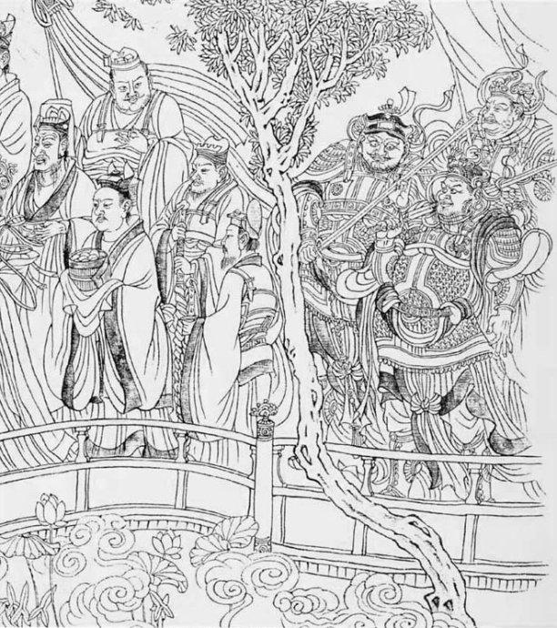 古装手绘七仙女