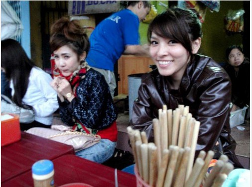 [贴图]越南富二代美女生活照