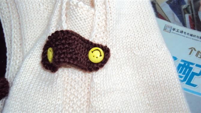 婴儿石榴帽子编织图片