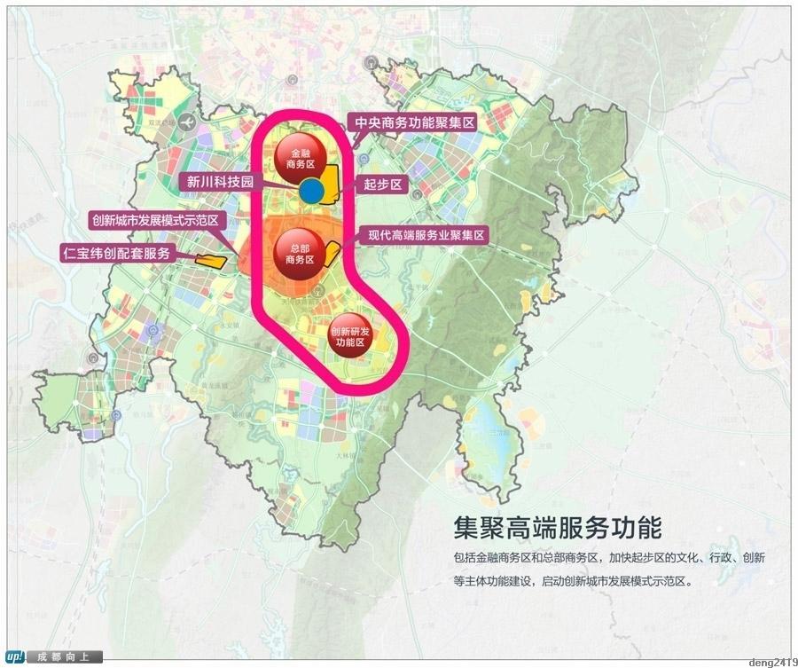 主题 天府新区,最完整详细规划图,严禁商用转载