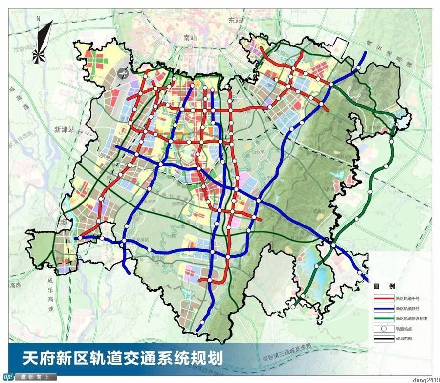 包括仁寿县在内的成都天府新区总体规划18日出炉图片