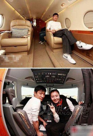 [分享]看明星们的私人飞机!
