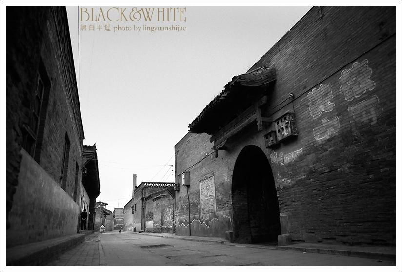 古代房屋黑白素材