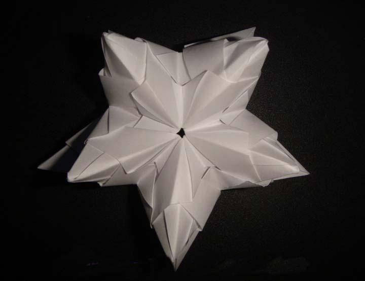 手工折纸碗图解