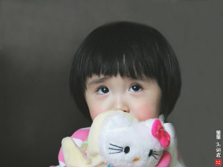 [贴图]通安西区大眼睛的小姑娘:高俪霏