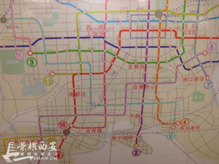 西安市雁塔区三维地图