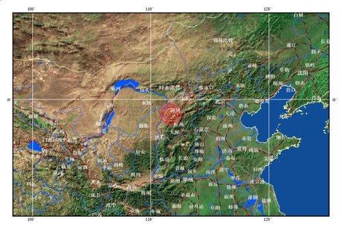 主题: 山西忻州五寨县发生4.2级地震 震源深度5公里