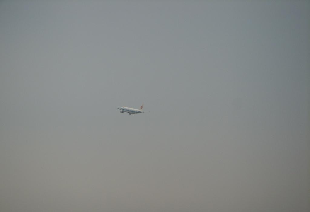 [分享]抓拍飞机起飞_摄影在身边_白城论坛