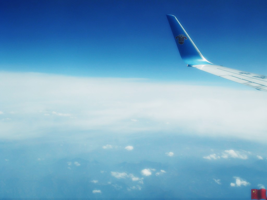主题: [原创]飞机上看云彩