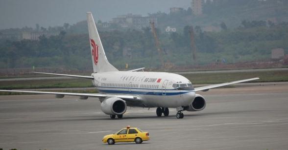主题: 重庆江北机场实拍飞机 绝对给力!