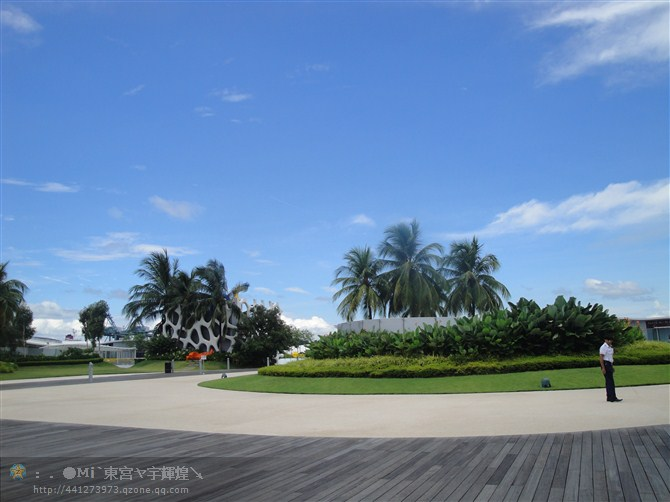 暑假一游新加坡 圣淘沙岛 今日新县