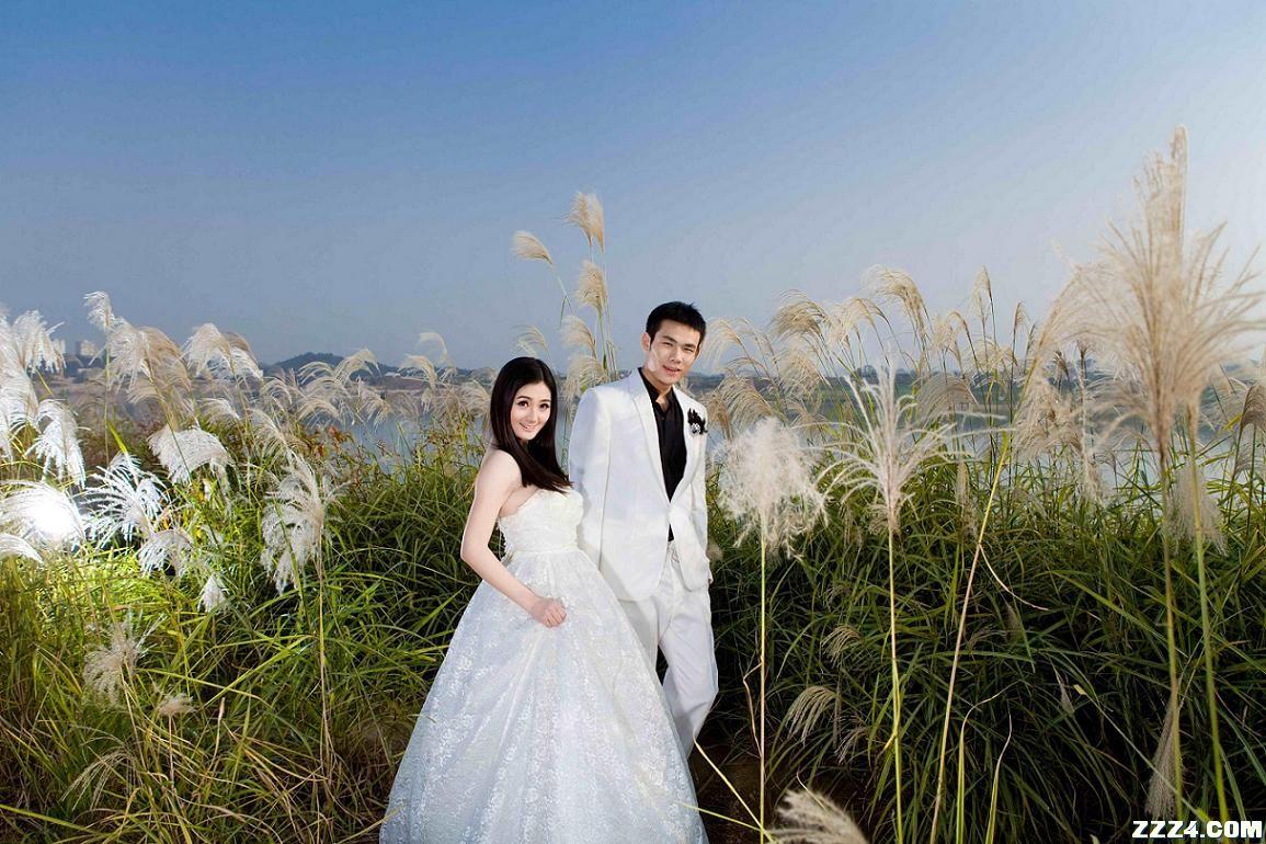 [原创]甜美自然的外景婚纱照