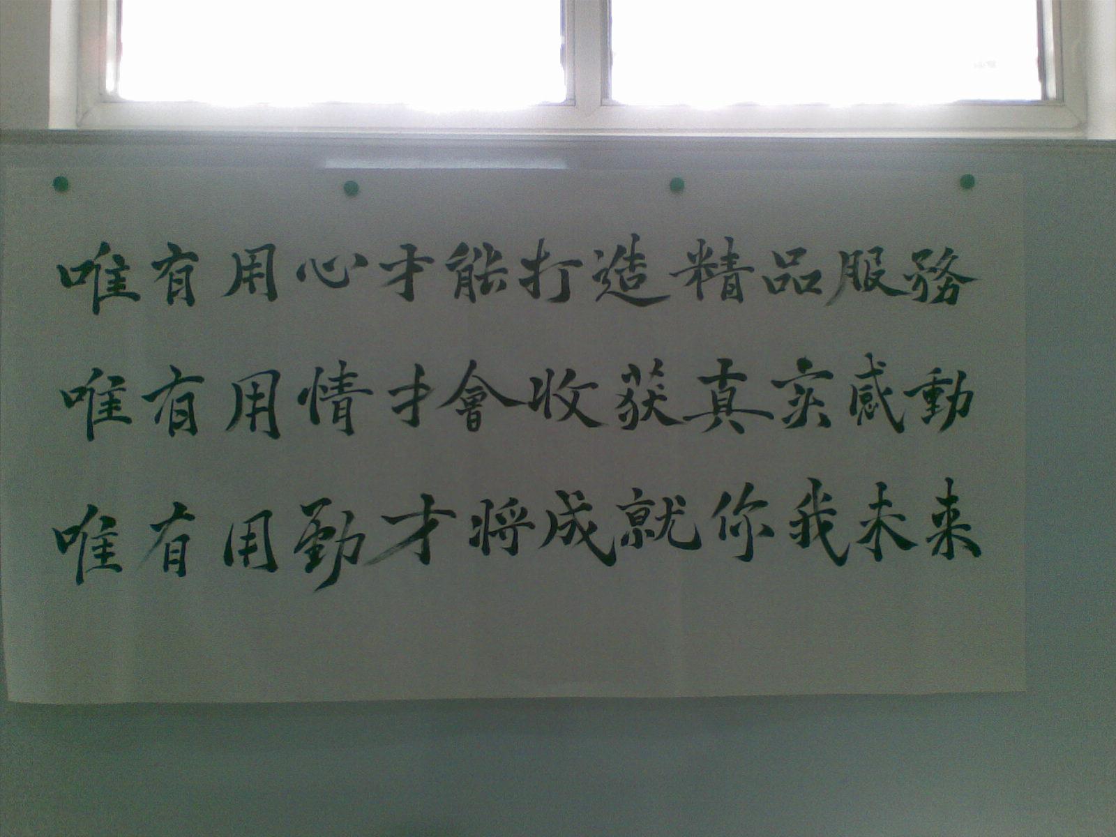 中国梦钢笔书法作品 第11张