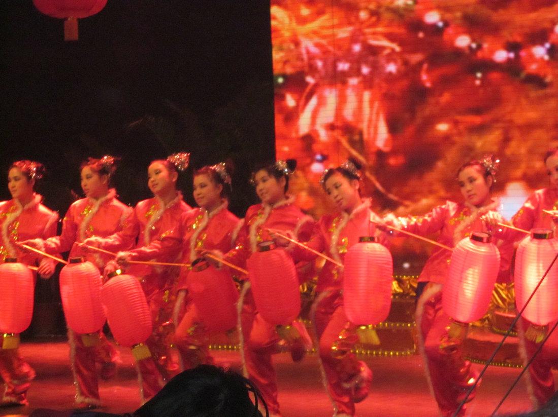 春节联欢晚会2012_2012年襄汾县春节联欢晚会彩排