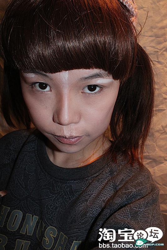 看矮穷挫怎么变白富美的 可怕的化妆术