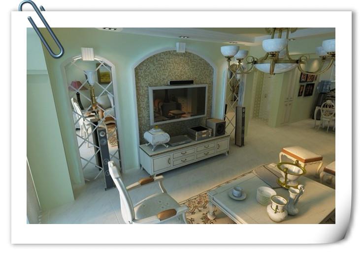 简约生活而言,现代欧式风格装修更适合于大多数现代人家庭装修.