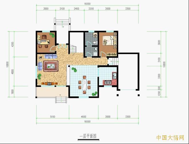 室内设计的变迁   50平方小户型装修设计图   户型八 本方案