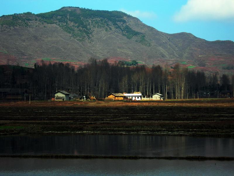 鲁甸龙树村景 摄影天地 鲁甸论坛图片