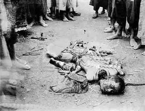 中国古代的五马分尸也算是一种肢解 图片 69k 496x380