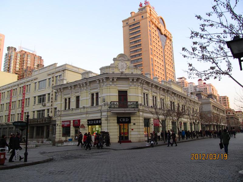 主题: 哈尔滨中央大街欧式建筑群(2012.3.19)