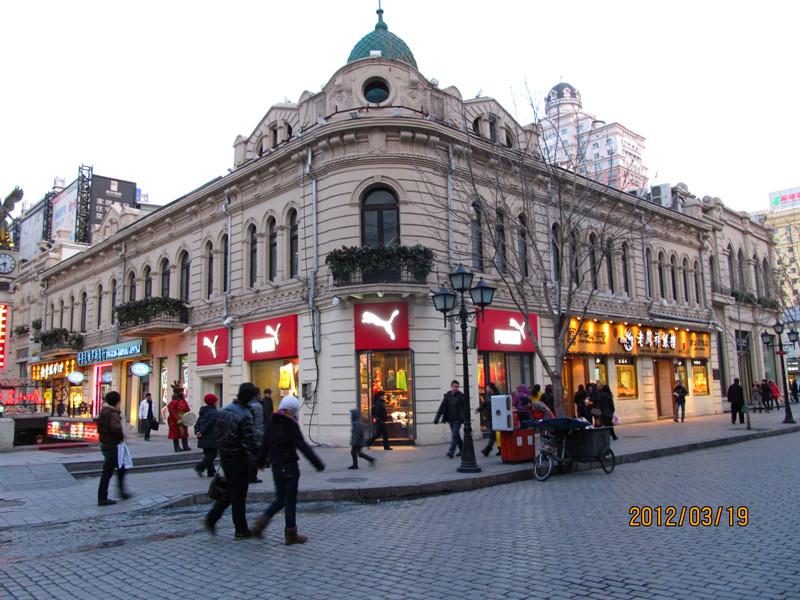 哈尔滨中央大街欧式建筑群