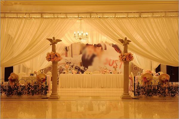 韩式婚礼现场布置 _婚庆家园_黔江论坛_黔江在线图片