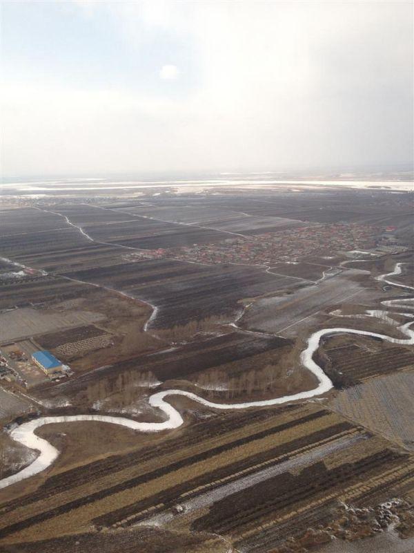 主题: [原创]从上海到哈尔滨的飞机上,俯瞰到的画面