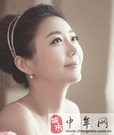90后最新韩式新娘发型