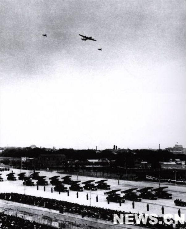 1949年国庆阅兵图片欣赏 组图