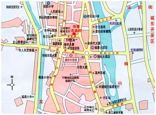 福鼎市中心区地图