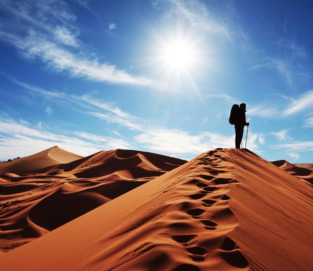 沙漠风光 - 有声有色 - 有声有色的博客