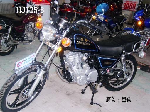 豪爵hj125-8小太子摩托车出售