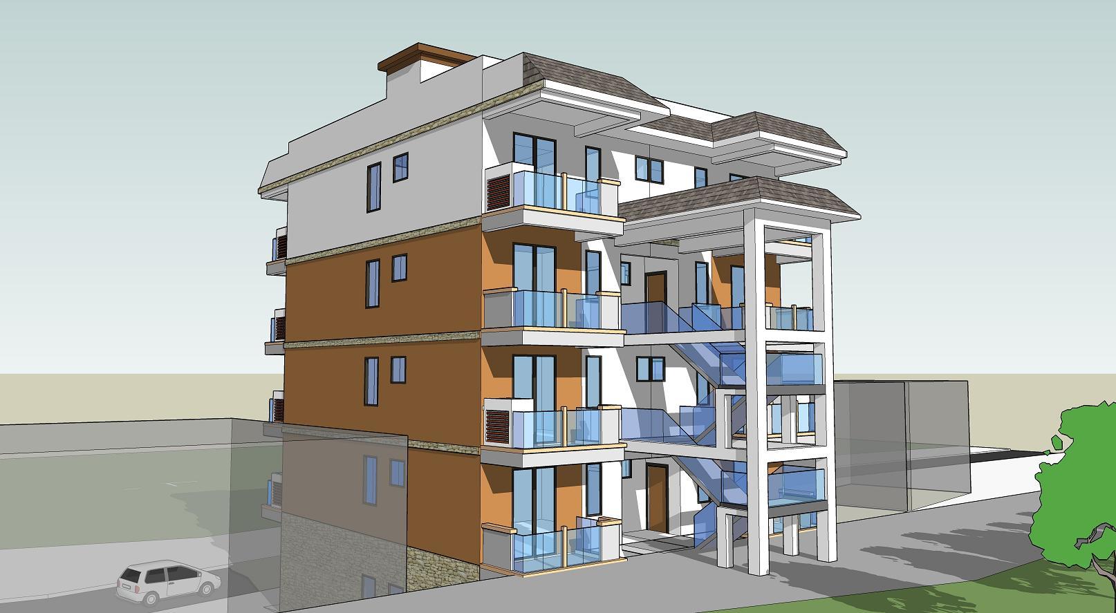 建房自跃层三层自建房设计图农村一层自潜入v农村别墅单独建房作案图片