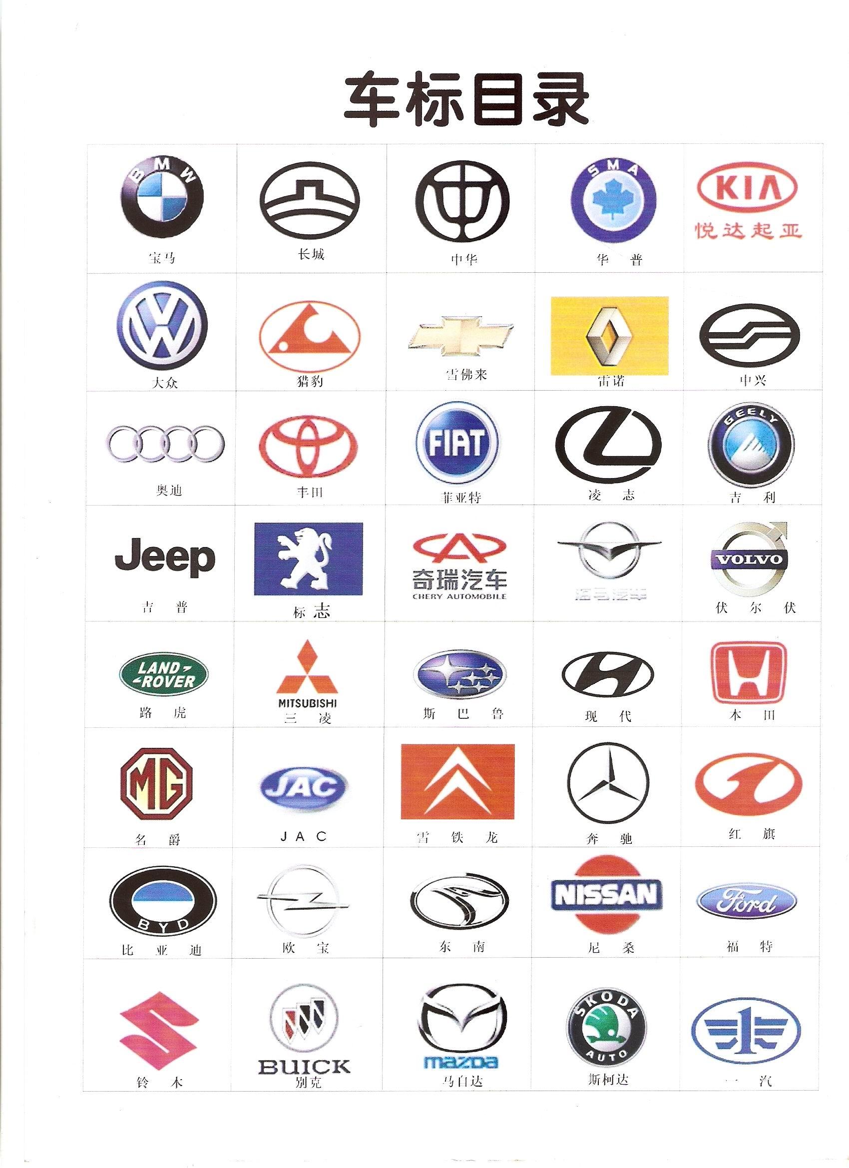 世界豪车标志及名称_豪车的标志和名字_豪车的标志和名字高清图片