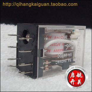 德力西hh52p小型电磁继电器(my2nj)